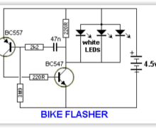 BIKE FLASHER 4.5V